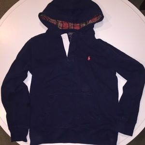 Polo Boys Pull Over Hoodie
